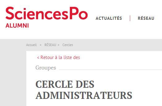 cercle des administrateurs de sciencespo